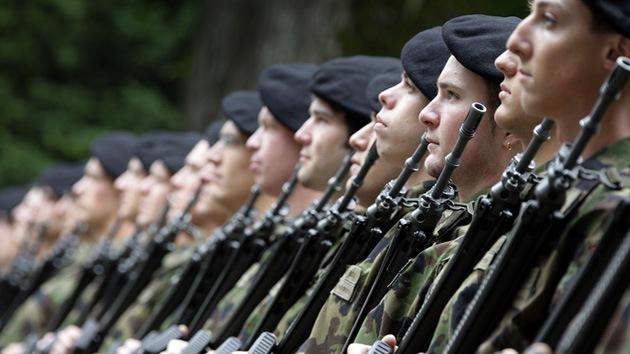 Juegos de guerra: Francia 'invade' a Suiza