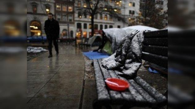 El 'mal olor' de 'Ocupa Washington' obliga al alcalde a actuar