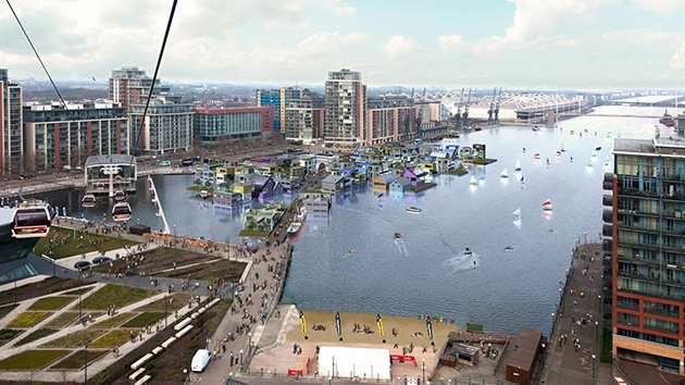 Foto: Un proyecto de ciudad flotante para millonarios londinenses desata la polémica