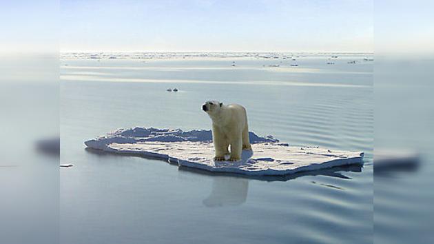 Los glaciares del Ártico, en peligro