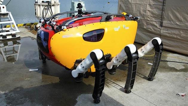 Video: Crean un cangrejo robótico capaz de revolucionar la exploración submarina
