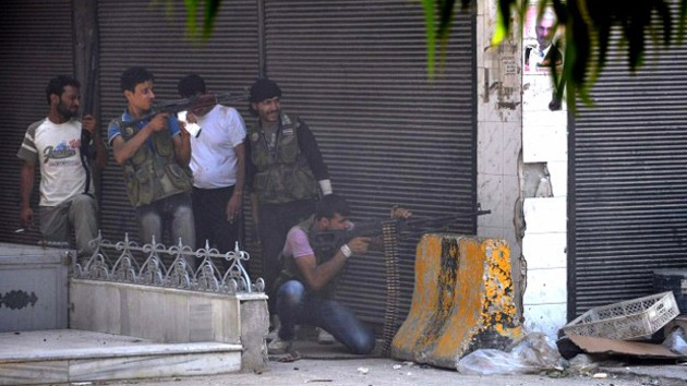 Medios occidentales: En Siria operan grupos armados extranjeros