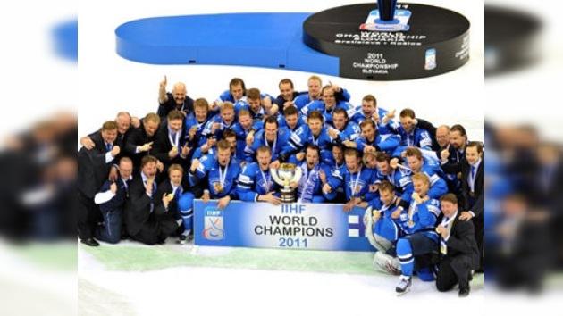 Finlandia se proclama nueva campeona mundial de hockey