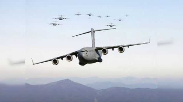 Un avión de transporte militar de EE. UU. se estrella en Alaska