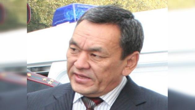Detienen al ex ministro del Interior de Kirguistán