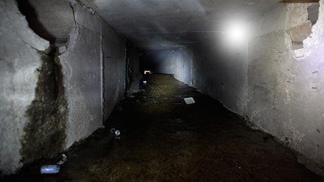 Video, Fotos: En las entrañas de los túneles por los que se escabullía 'El Chapo' Guzmán