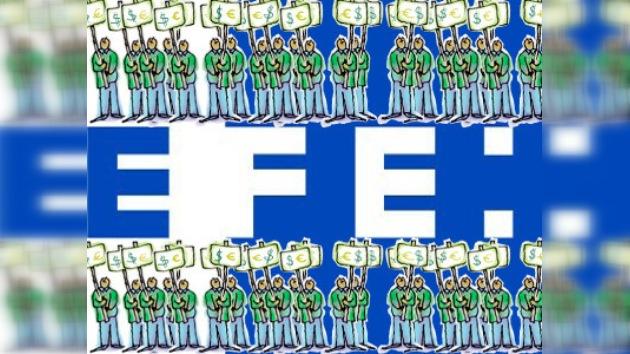 Los trabajadores de EFE declaran una huelga de dos días