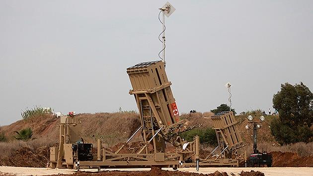 Las defensas aéreas israelíes derriban un avión sirio