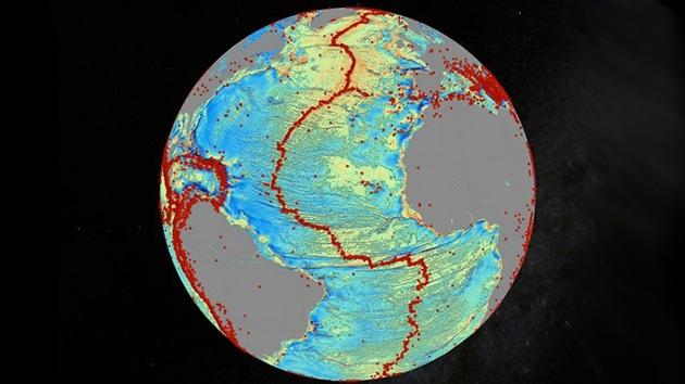 Un nuevo mapa revela miles de montañas inexploradas bajo el mar