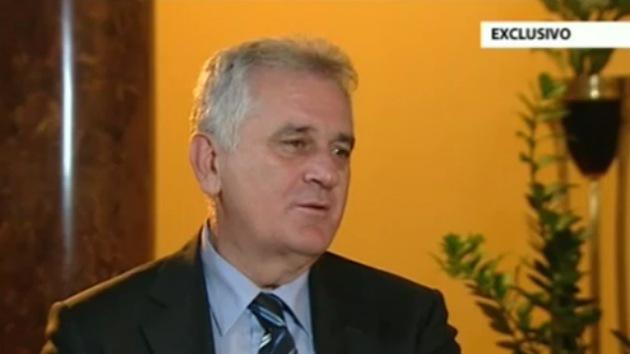 "Tomislav Nikolic a RT: ""Serbia nunca entrará en la OTAN"""