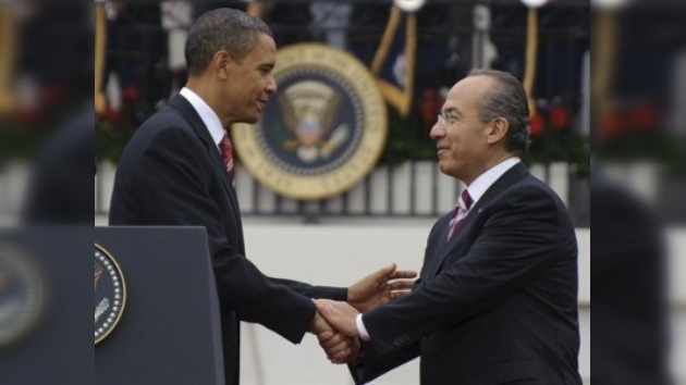 Obama promete apoyo contra los cárteles mexicanos