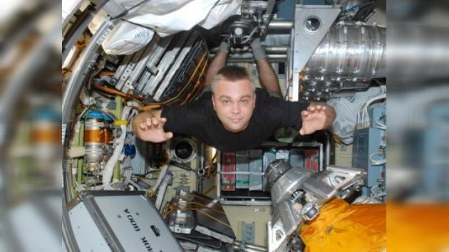 Los cosmonautas rusos tienen buen sentido del humor