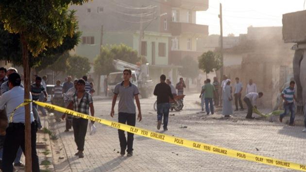 Turquía ataca el territorio sirio