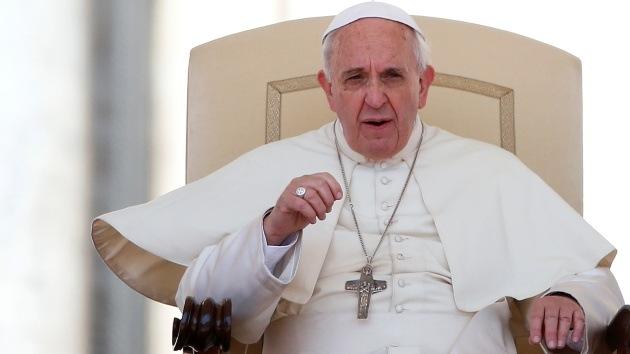 El papa Francisco advierte del pronto colapso de la economía mundial