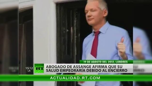 Baltasar Garzón: La salud de Assange podría empeorar si sigue en la Embajada de Ecuador