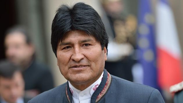 Morales: Bolivia demandará a Chile ante La Haya en los próximos días