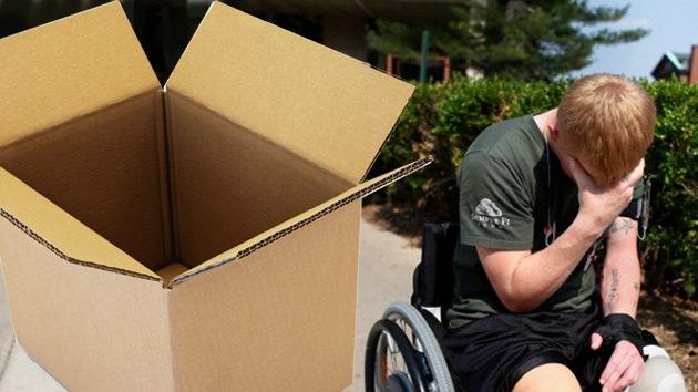 Castigo escolar en EE. UU.: Niño parapléjico humillado en una caja de cartón