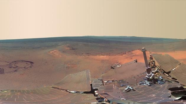 La NASA publica una foto panorámica de 360º de Marte