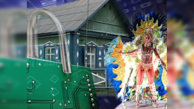 Carnaval de Río y tecnologías informáticas seguras en una provincia rusa