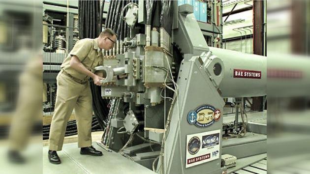 Marina estadounidense prueba 'el arma del siglo XXI'