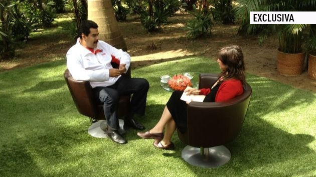 Pronto en RT: Entrevista en exclusiva a Nicolás Maduro por la presentadora del programa 'Detrás de la Noticia', Eva Golinger