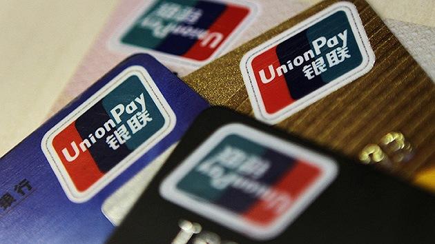 Rusia apuesta por la tarjeta china UnionPay como alternativa a Visa y MasterCard