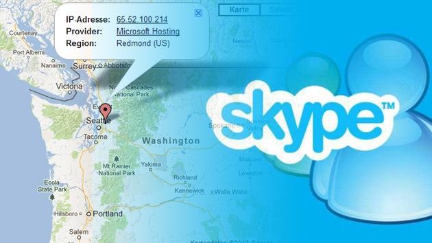 Microsoft lee todo lo que se escribe en Skype