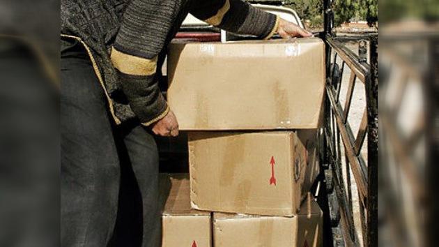 Siete camiones de ayuda humanitaria llegan a la ciudad siria de Homs