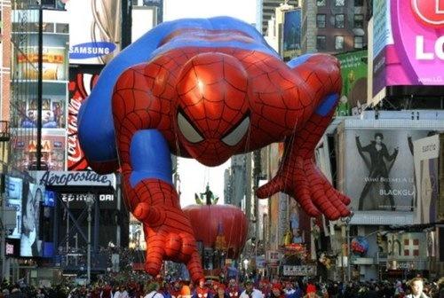 Enormes globos invaden Nueva York por Acción de Gracias