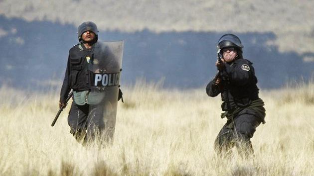 El Gobierno de Perú justifica el uso de la fuerza contra manifestantes ecologistas