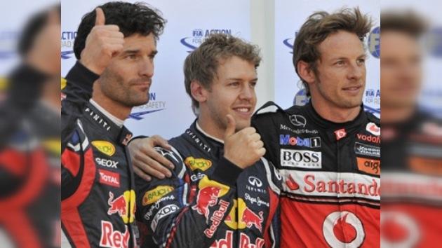 F1: Sebastian Vettel se hace con la 'pole' y Pérez se accidenta en el GP de Mónaco