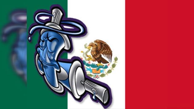 Héroes mexicanos retratados en graffiti en 3.000 metros cuadrados de muro