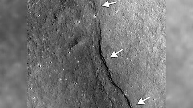 La Luna se contrae, según científicos