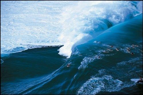 Fotografía entre las olas de Tim McKenna