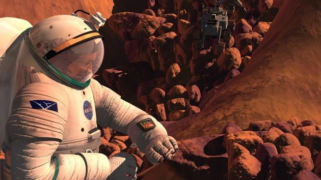 Las sustancias tóxicas de Marte ayudarán a sobrevivir y volver a Tierra