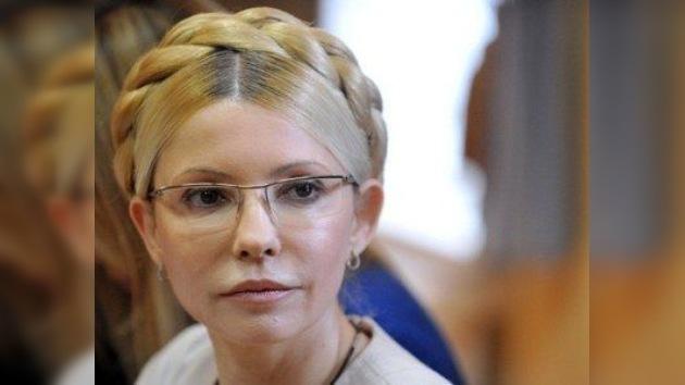 La policía escolta a Yulia Timoshenko a la cárcel