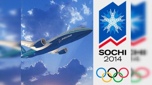 El Boeing-787 rumbo a Sochi