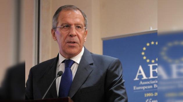 Lavrov: Rusia vetará cualquier resolución que autorice el uso indiscriminado de la fuerza