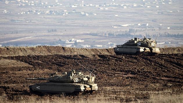 Los tanques israelíes han entrado en la Franja de Gaza