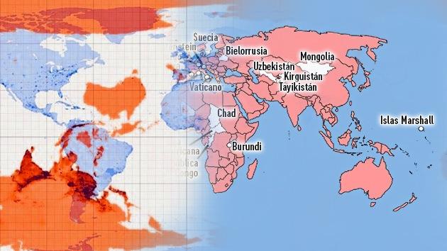 Mapas increíbles que cambiarán su visión del mundo