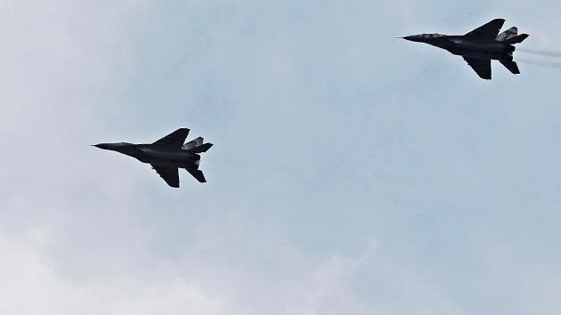 La Fuerza Aérea de Ucrania bombardea la región de Lugansk