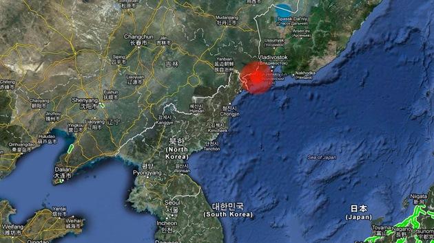 Un sismo de magnitud 6,2 sacude Rusia cerca de la frontera con Corea del Norte