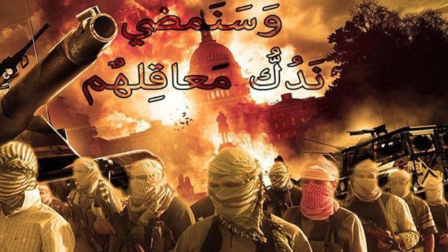 Los rebeldes sirios visualizan un futuro con el Capitolio de EE.UU. en llamas