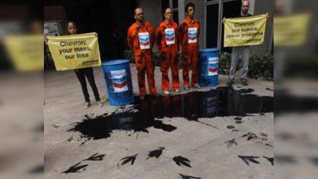 Brasil multa a Chevron por un derrame petrolero