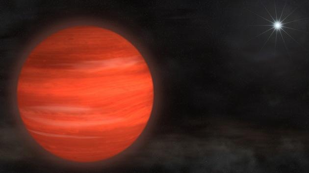 Captan la imagen de un planeta gigante 13 veces mayor que Júpiter