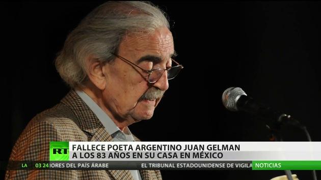 Fallece el poeta argentino Juan Gelman a los 83 años en México