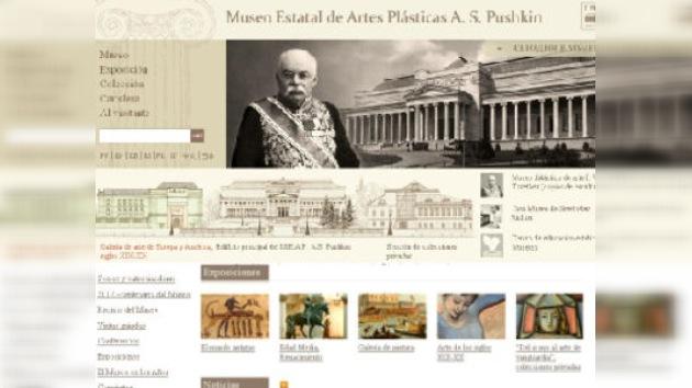 El Museo Estatal de Bellas Artes Pushkin estrena nuevo portal en internet