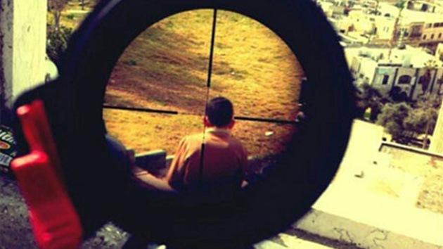 Soldado israelí publica foto en Instagram de un niño en la mira de su rifle