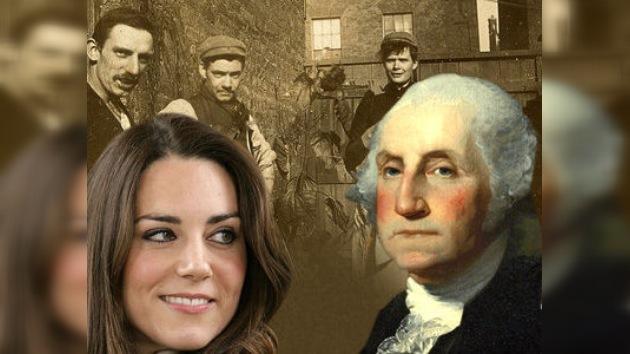 La novia del príncipe Guillermo es familia de George Washington, según un estudio