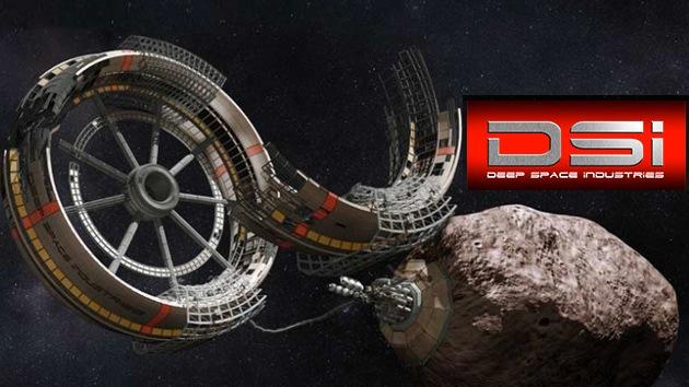 Otra compañía se suma a la batalla por los recursos minerales espaciales